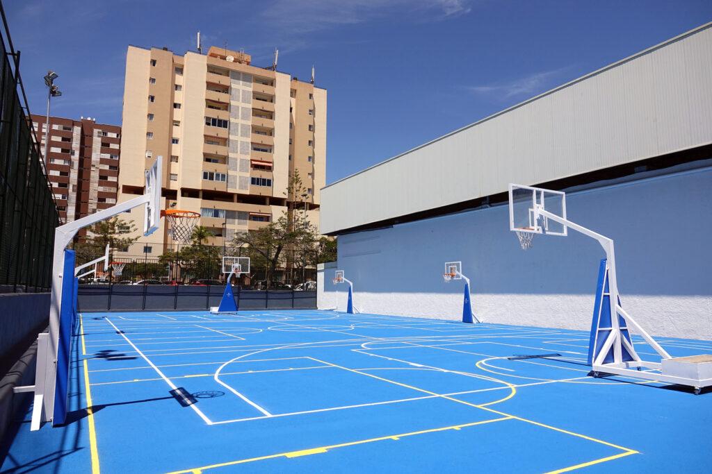 El Ayuntamiento de Santa Cruz de Tenerife pone en marcha la cancha Anexo Paco Álvarez tras su rehabilitación