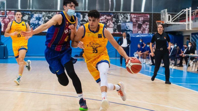 El Barça elimina al Gran Canaria-Claret, que acaba su temporada en LEB Plata