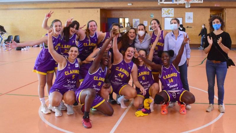 El Clarinos jugará la primera Fase de Ascenso a Liga Femenina 2 en Córdoba del 21 al 23 de mayo