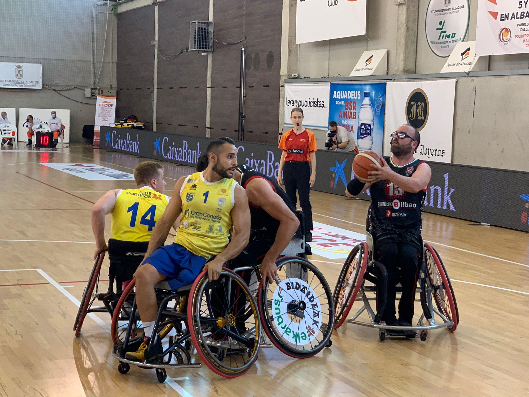 El BSR Econy Gran Canaria planta cara, pero es eliminado por Bilbao en Copa