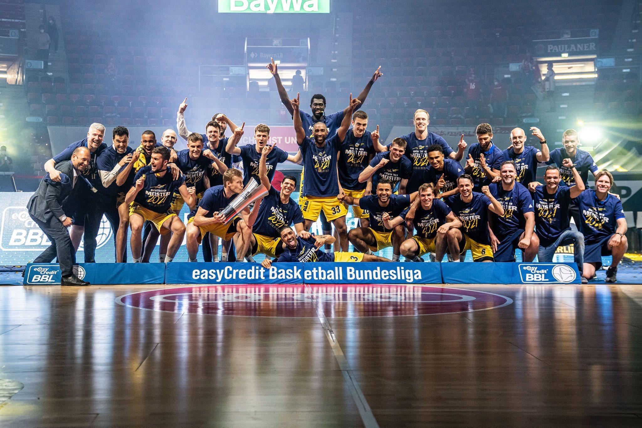 El 'grancanario' Alba Berlín, campeón de Liga en Alemania