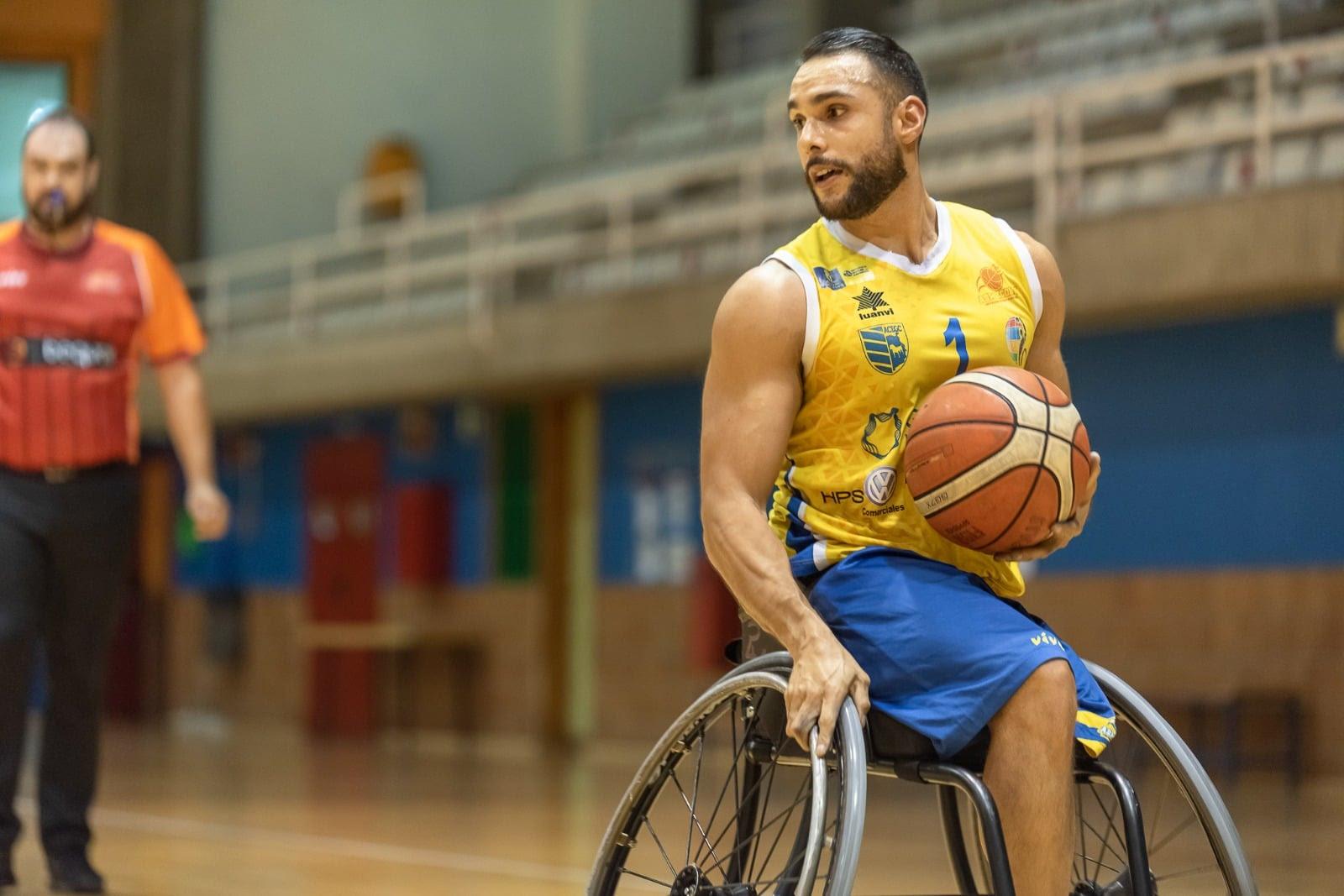 Jorge Sánchez volverá a liderar al Econy Gran Canaria tras los Juegos Paralímpicos