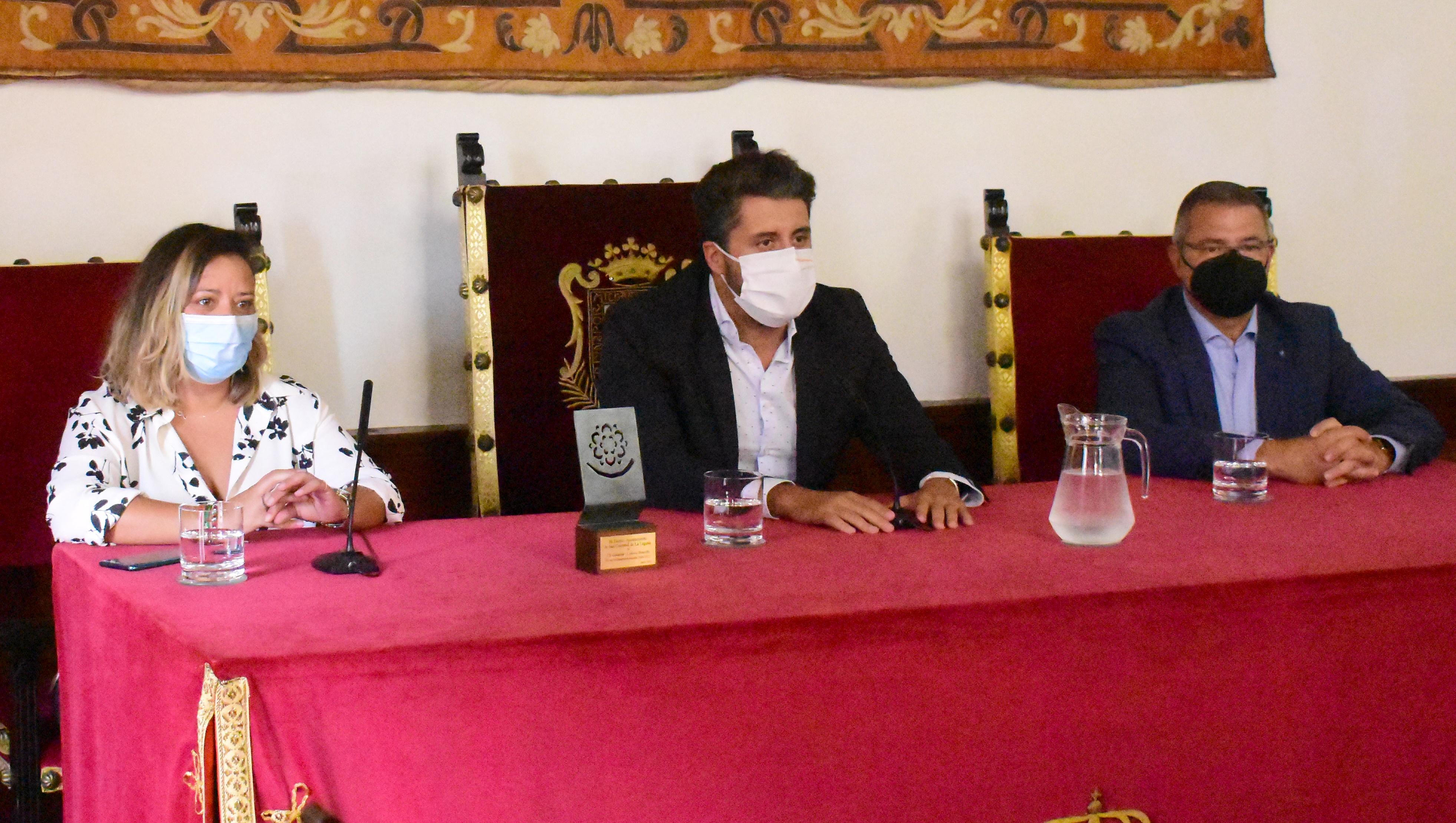 Gutiérrez, al Cantera Base 1939 Canarias: «Es importante tener un representante como ustedes en la élite»