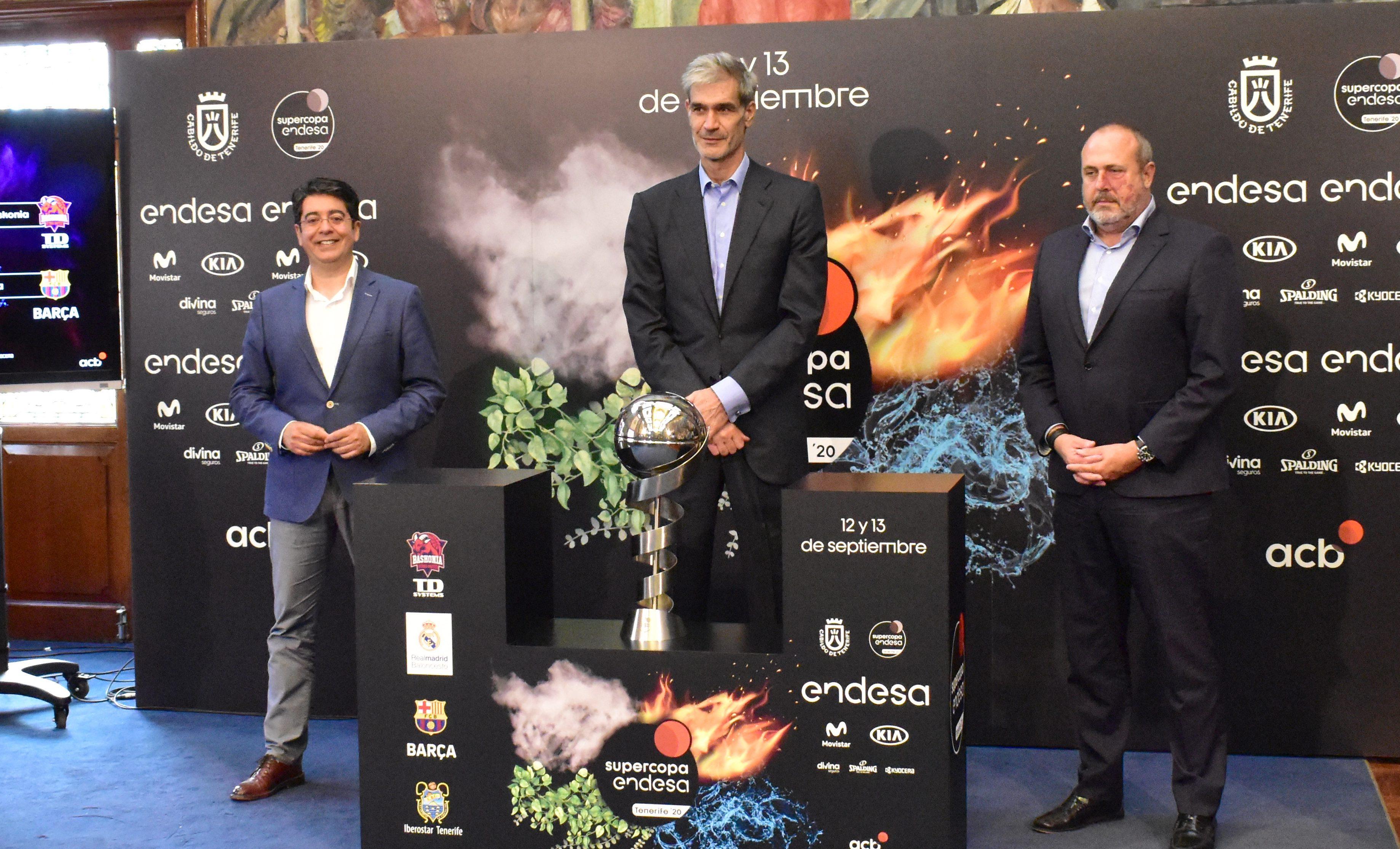 ACB y Cabildo de Tenerife ya negocian sobre la Supercopa 2021
