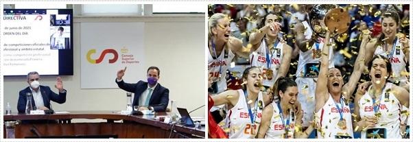 El CSD cataloga como profesional el fútbol femenino; ¿y el baloncesto?