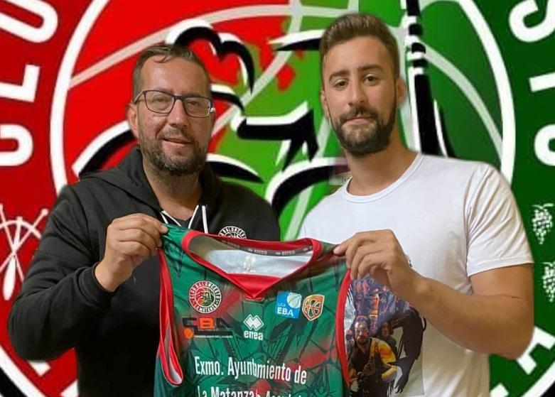 Imobach González regresa al CB La Matanza y es el primer fichaje para su equipo EBA 21/22