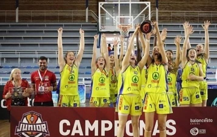 El CB Islas Canarias, campeón de España Júnior