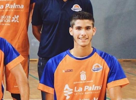 Mario Cabrera formará parte de la primera plantilla del CB Aridane