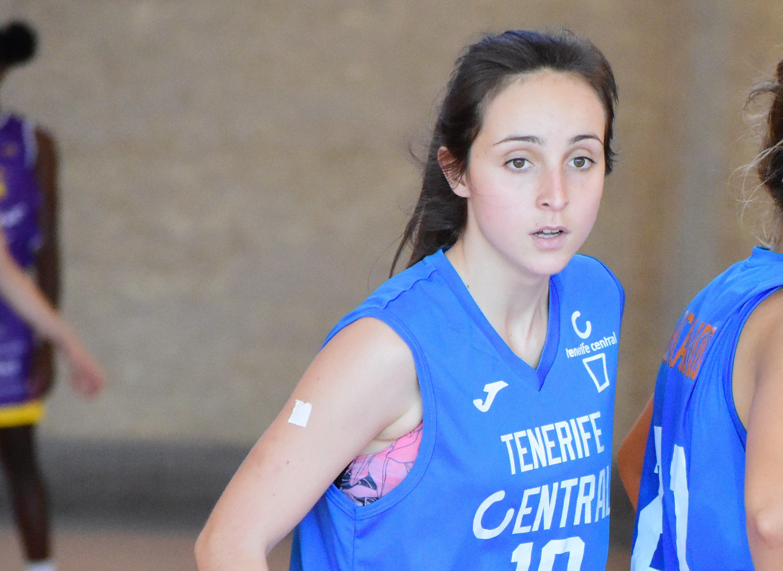 Daniela González Isla cumplirá un lustro en el Tenerife Central
