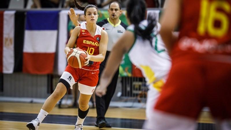 Elena Buenavida contribuye a que España ridiculice a Brasil y sume la segunda victoria en el Mundial U19