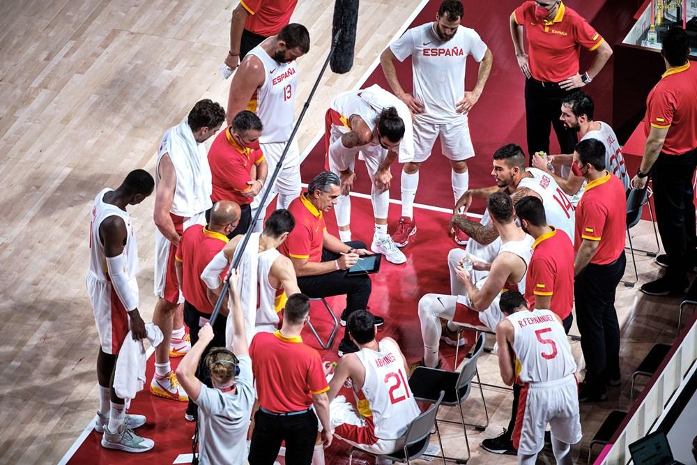 Estados Unidos – España, cuartos de final del torneo masculino