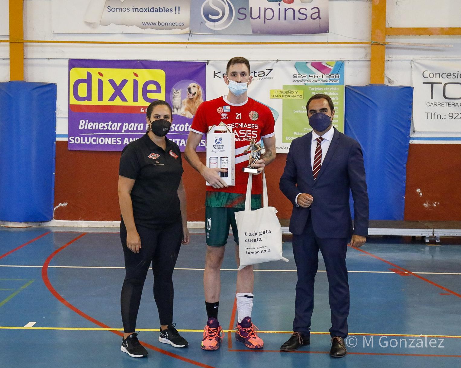 Adrián Tato, gran protagonista del XXXIV Torneo Ciudad de Tacoronte