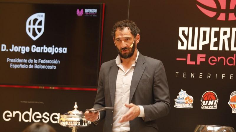 Garbajosa no ve favorito para la Supercopa de La Laguna, «una ciudad donde se respira baloncesto»