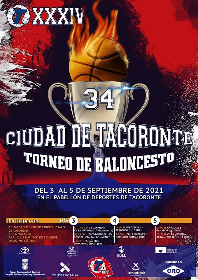 [DIRECTO] Segunda jornada del XXXIV Torneo Masculino Ciudad de Tacoronte