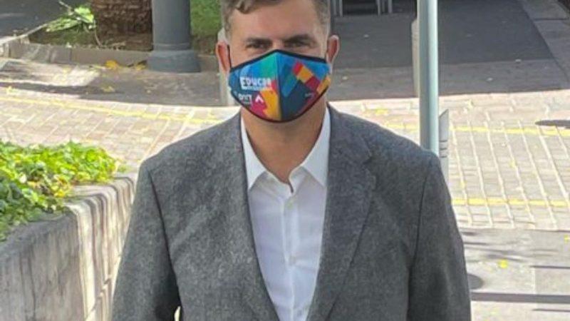 Pérez, agradecido y responsabilizado para afrontar el cargo de director insular de Deportes de Tenerife