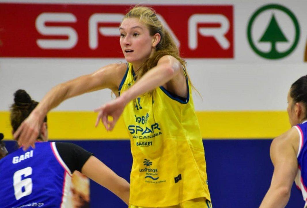 Lydia Giomi, entre las mejores de la cuarta jornada de Liga Femenina