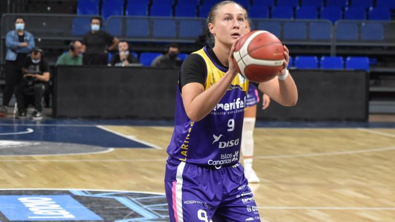 Krisztina Raksanyi, en el mejor quinteto de la cuarta jornada de Liga Femenina