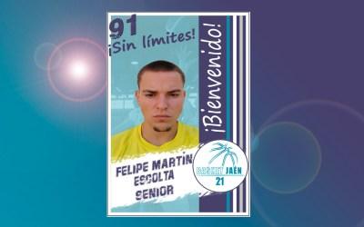 Bienvenido!!! Felipe Martín.