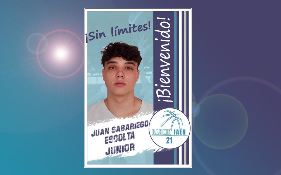 Bienvenido!!! Juan Sabariego.