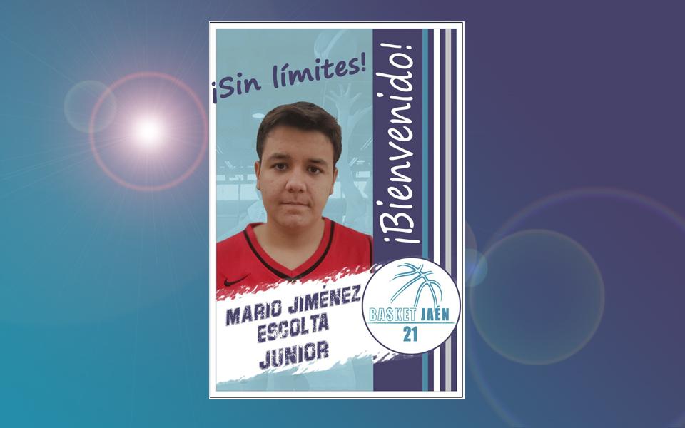 Bienvenido!!! Mario Jiménez.