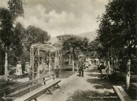 Lagoon postcard circa 1910
