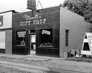 Stewarts Gift Shop in 1950