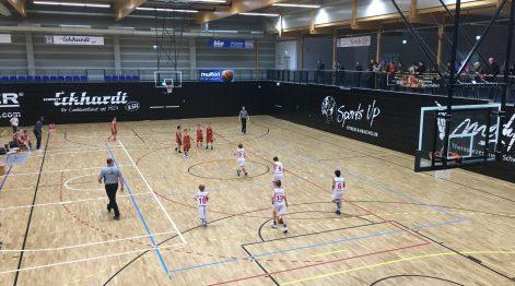 Tolle Halle, tolles Spiel unserer Mannschaft: Die U10 gewann in Schwelm.