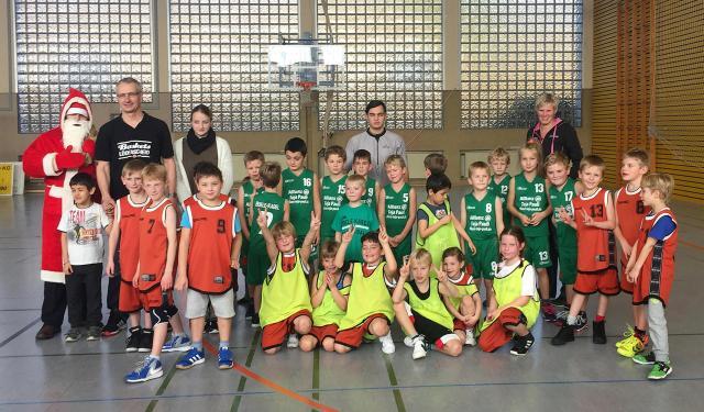 Testspiel der Baskets-Minis gegen Boele-Kabel