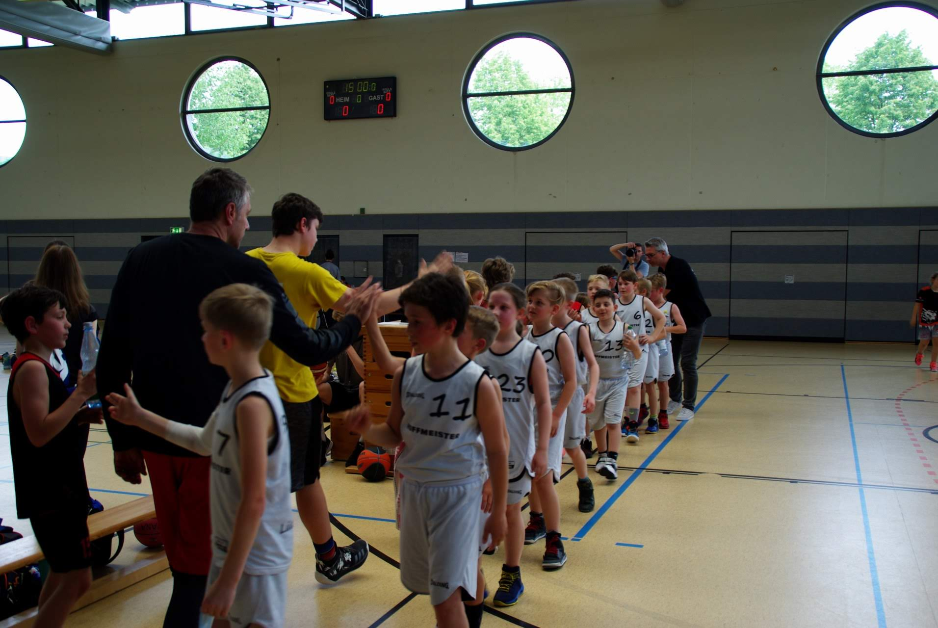 Baskets on tour: Die U10 und U14 in Speyer
