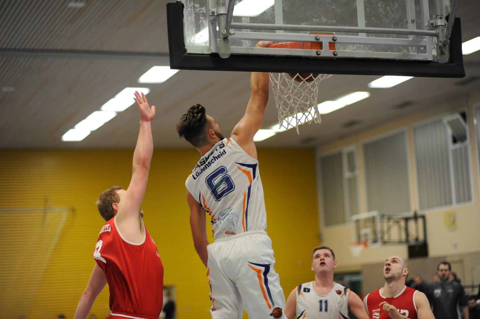 Herren-Oberliga: Baskets jubeln nach intensivem Spiel