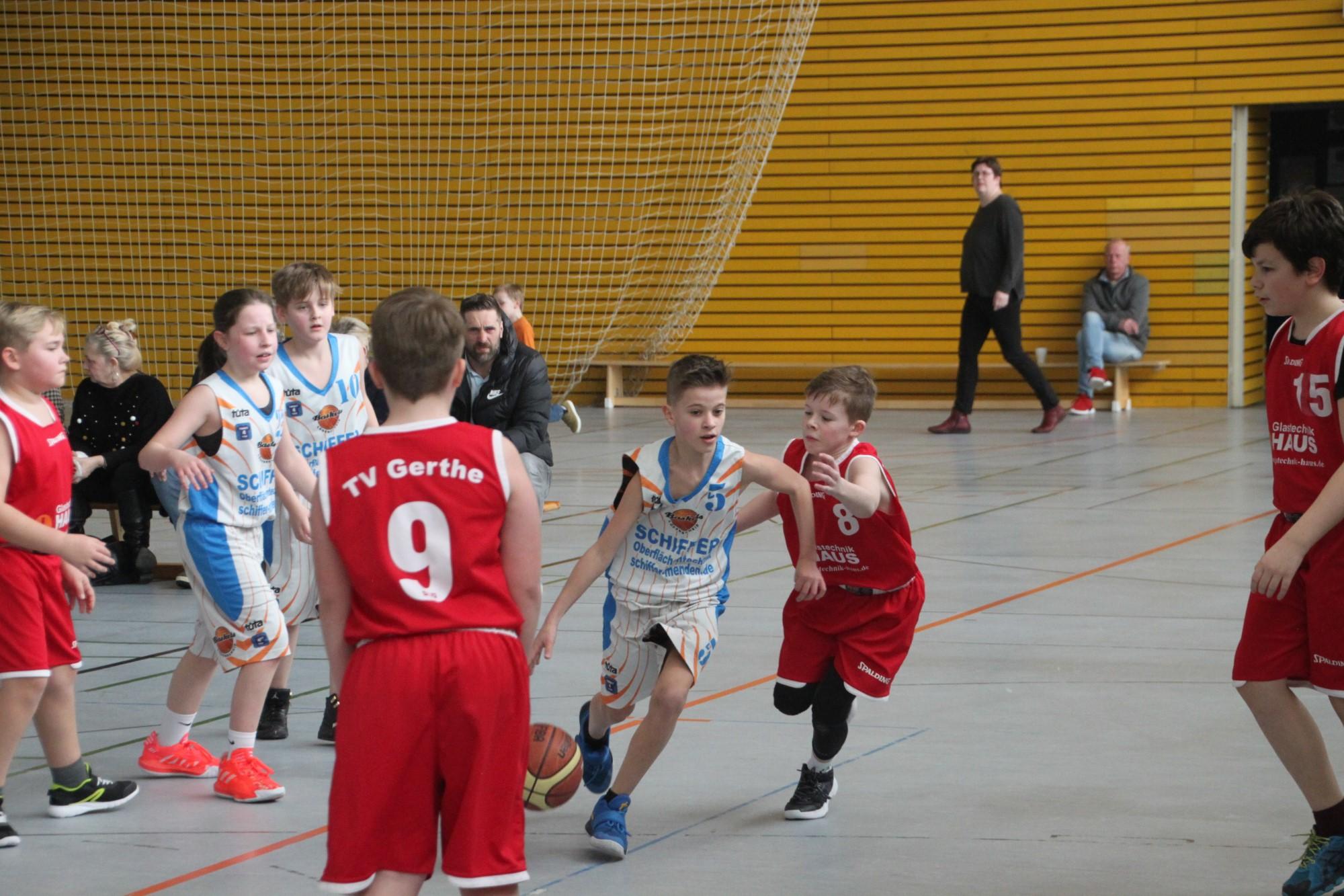 U12-Oberliga: Starke Leistung als Team