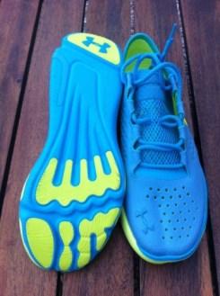 speedform baskets aux pieds