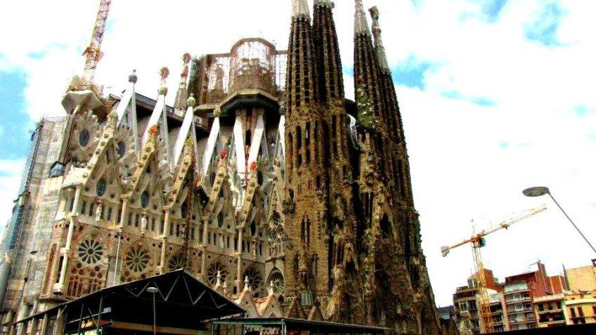 La Sangrada Familia, Barcelona