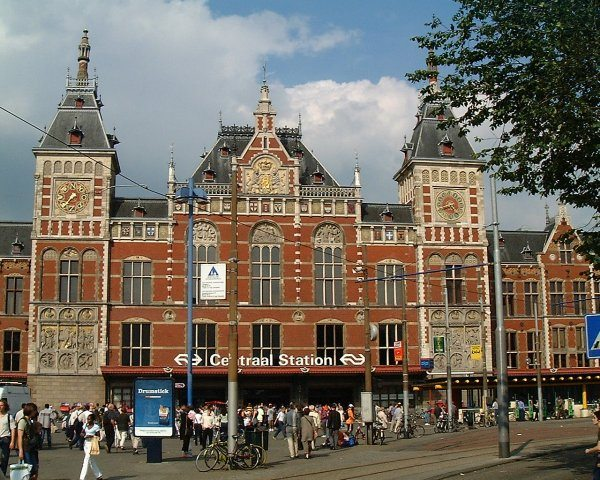 Amsterdam Main Train Station
