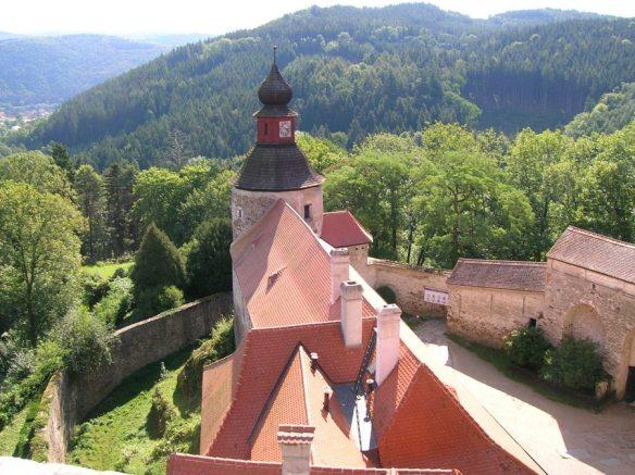 Pernstejn Castle Czech Republic