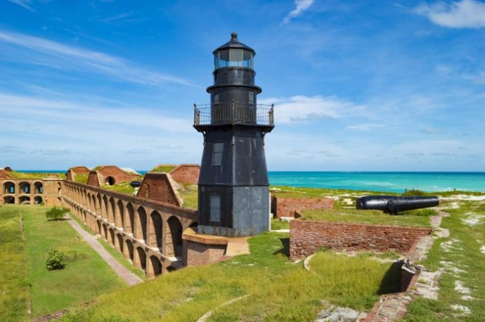 How to Visit Fort Jefferson, at the Dry Tortugas National Park, Florida Keys
