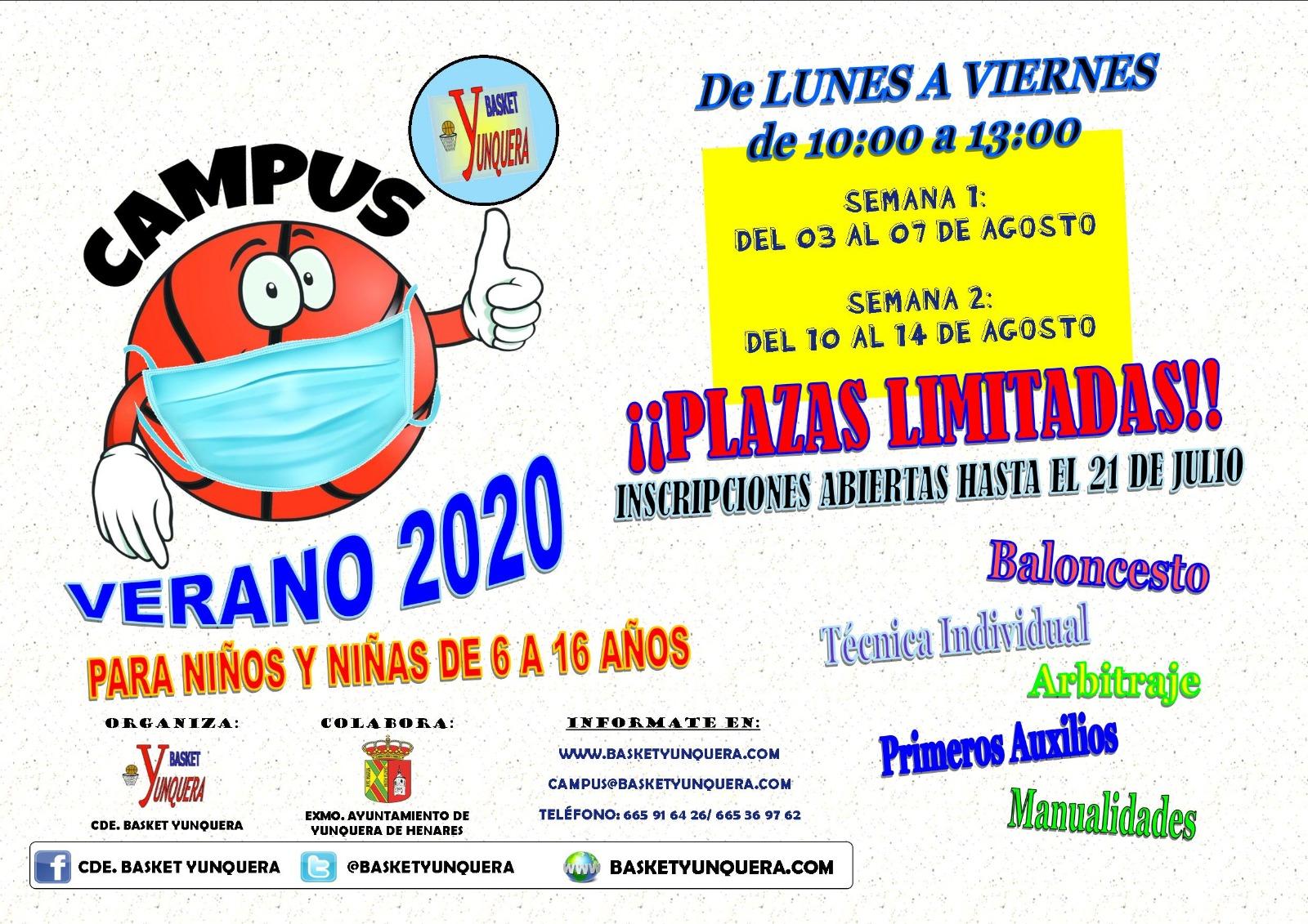 Inscripción Campus 2020