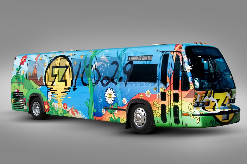 Z102.9 Magic Bus