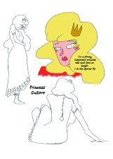 princess page for zine