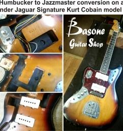 kurt cobain model jaguar pickup upgrade by basone in vancouver [ 1081 x 1028 Pixel ]
