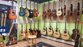Guitars on sale in Vancouver Canada at Basone
