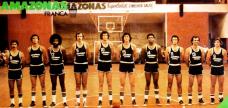 Francana - Hélio Rubens é o primeiro da esquerda para a direita