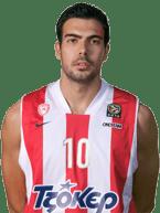 Kostas Sloukas - 1.90 m - Armador - 23 anos