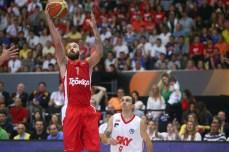 Spanoulis liderou o time na conquista do mundial (Samuel Vélez)
