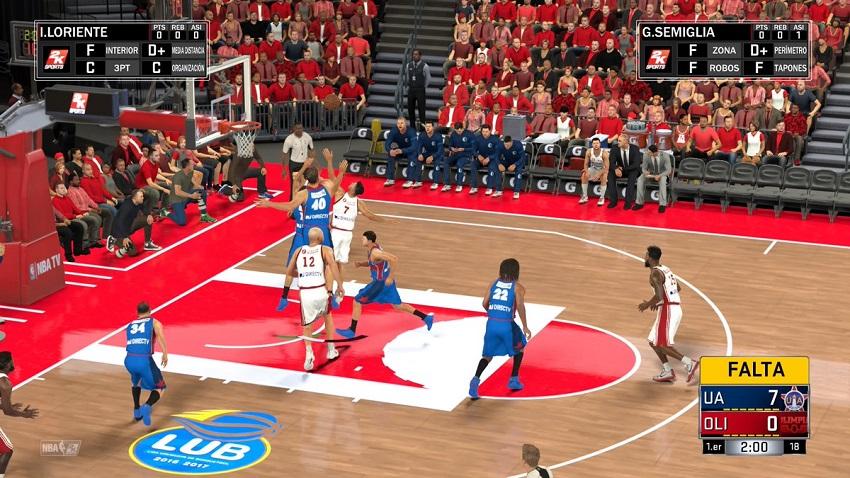 La LUB llegó a la NBA