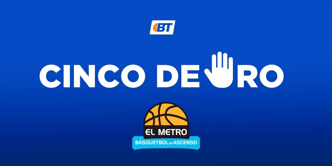 5 de oro: El Metro