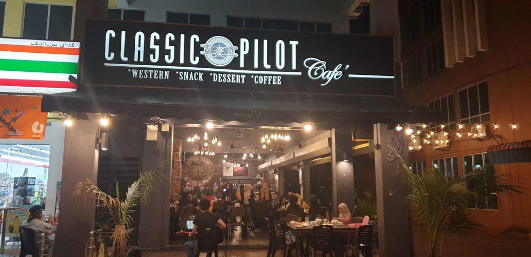 Classic Pilot Cafe – jalan2 & makan2 Kuantan