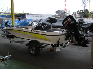 A Japan-Only Ranger Bass Boat model 155VS. Photo Terry Battisti 2006.