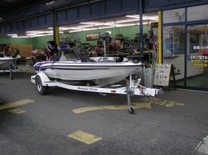 A 14-foot Japan-Only Ranger Bass Boat. Model was not displayed on the boat nor on the identification plate. Photo Terry Battisti 2006.
