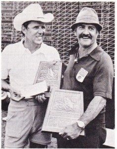 Don Shealy wins the Santee-Cooper fly rod event. Photo Sept/Oct 1975 Issue of Bassmaster Magazine.